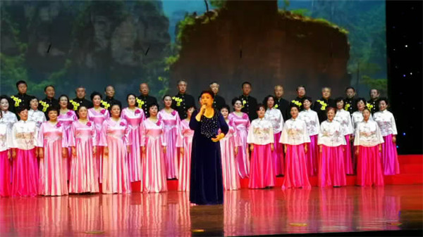 省局老干部合唱团参加第七届老干部艺术节