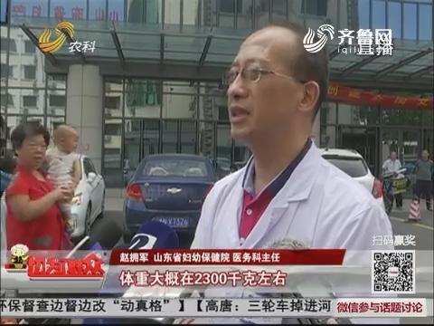 济南:浆水泉水库边惊现男弃婴 体重仅四斤