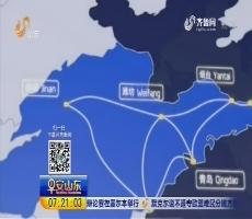 中国首批小编组城际行动车组青岛下线