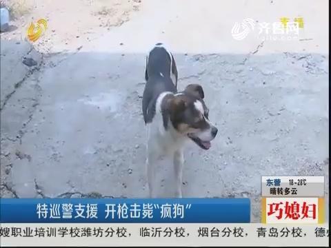 """潍坊:狗突然""""发狂"""" 咬伤主人"""
