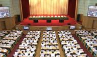 省委省政府重點工作推進情況視頻會議召開