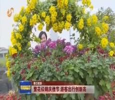 【假日旅游】繁花似锦庆佳节 游客出行创新高