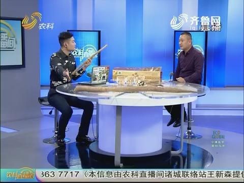 20171011《农科直播间》:我是站长庞冲——返乡创业 山药闯出大名堂