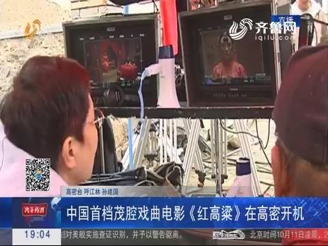 中国首档茂腔戏曲电影《红高粱》在高密开机
