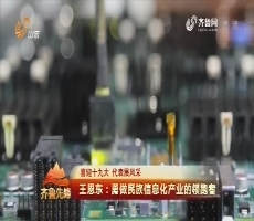 20171014《齐鲁先锋》:喜迎十九大 代表展风采 王恩东——勇做民族信息化产业的领跑者