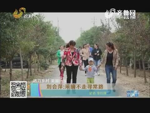 【活力乡村 美丽山东】刘会萍:采摘不走寻常路