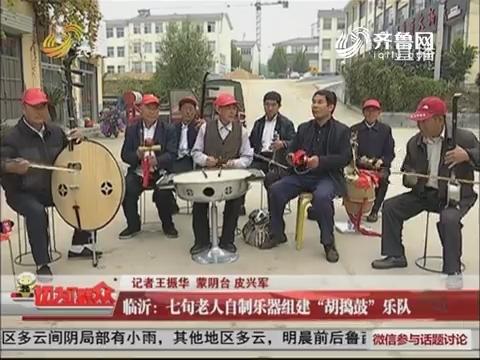 """临沂:七旬老人自制乐器组建""""胡捣鼓""""乐队"""