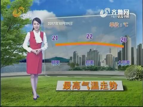 看天气:本周日冷空气来袭 部分地区有降雨