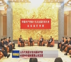 山东代表团讨论向媒体开放 45家中外媒体聚焦山东发展