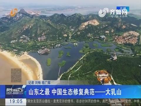 山东之最 中国生态修复典范——大乳山