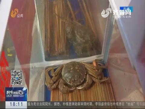 """微山:""""蟹王""""公开义卖 重阳敬老献爱心"""