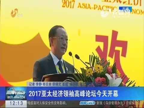 2017亚太经济领袖高峰论坛11月4日开幕