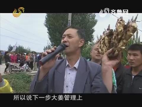 20171106《品牌农资龙虎榜》:莱州 昌邑——周林昌讲大姜