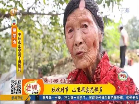 【齐鲁新百寿图】枣庄:百岁老人 日子越过越好