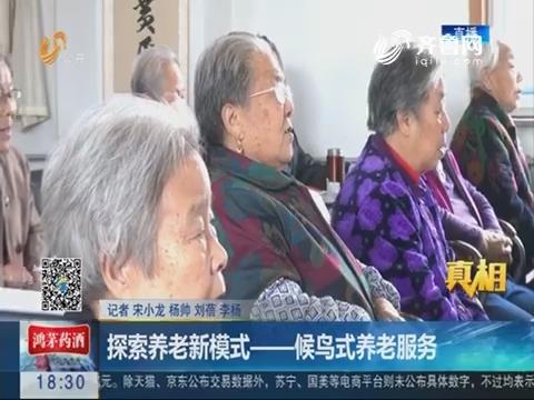 【真相】潍坊:探索养老新模式——候鸟式养老服务