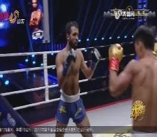 功夫王中王:第一轮比赛 奥迪VS柳文龙 柳文龙获得胜利