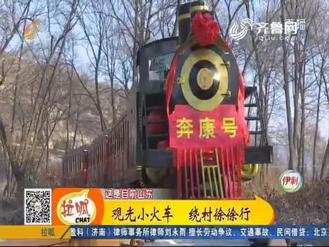 【齐鲁最美乡村】淄博:观光小火车 绕村徐徐行