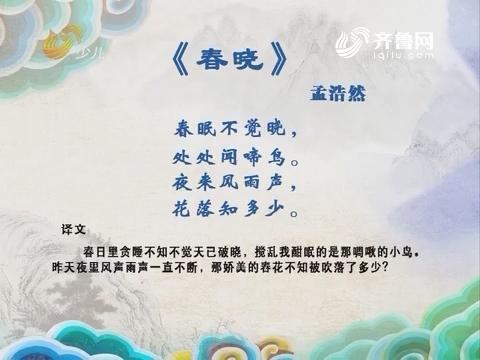 中华经典诵读:春晓