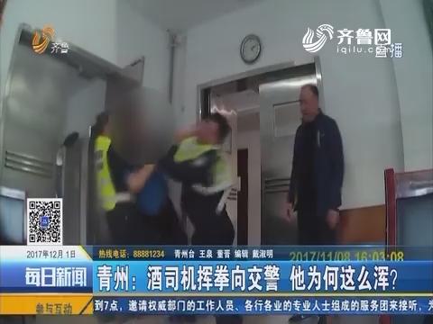 青州:酒司机挥拳向交警 他为何这么浑?