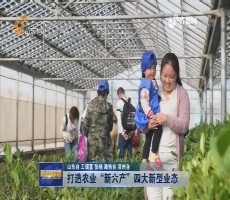 """【新闻链接】打造农业""""新六产""""四大新型业态"""