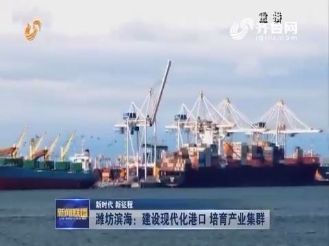 【新时代 新征程】潍坊滨海:建设现代化港口 培养产业集群