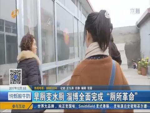 """旱厕变水厕 淄博全面完成""""厕所革命"""""""