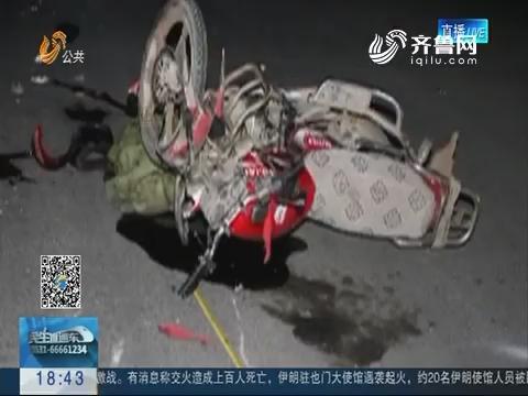 淄博:带着孩子酒驾上路  糊涂父亲太不负责