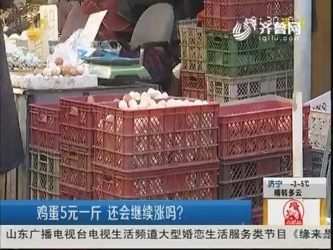 """济南:鸡蛋涨价快 变身""""火箭蛋"""""""