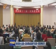 山东省妇联十三届一次执委会选举产生新一届领导班子