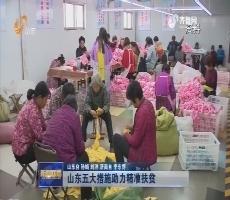【权威发布】山东五大措施助力精准扶贫