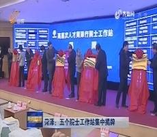 菏泽:五个院士工作站集中揭牌