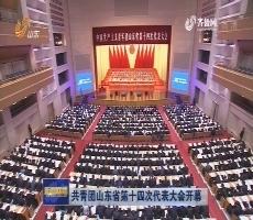 共青团山东省第十四次代表大会开幕
