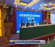 山东食品药品职业教育集团揭牌