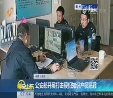 【热点快搜】公安部开展打击侵犯知识产权犯罪