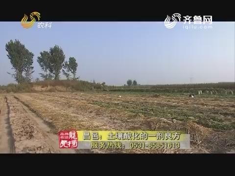 20171219《品牌农资龙虎榜》:昌邑——土壤酸化的一剂良方