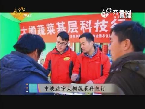 20171222《当前农事》:中澳益宇大棚蔬菜科技行