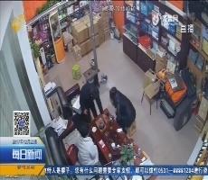 济南:借口喝水 男子拿包就跑