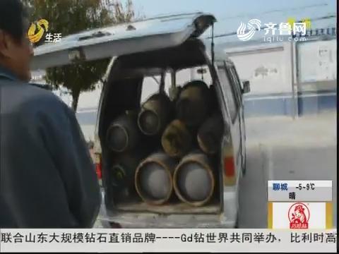 """滨州:""""假牌""""报废车 拉着一车""""炸弹"""""""
