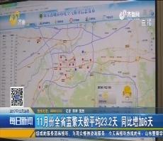 山东省环保厅通报11月份环境质量状况