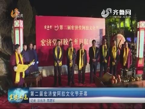 第二届宏济堂阿胶文化节开幕