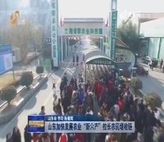 """【权威发布】山东加快发展农业""""新六产"""" 拉长农民增收链"""