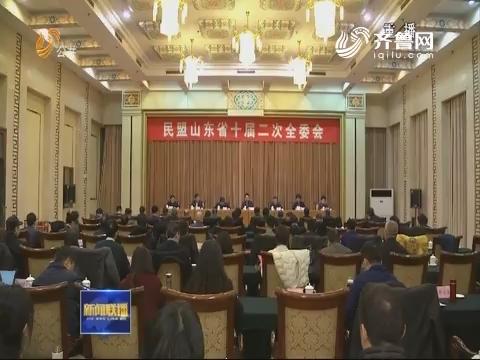 民盟山东省十届二次全委会议在济南召开