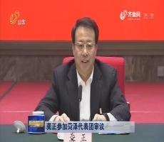 龚正参加菏泽代表团审议