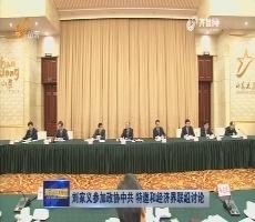 刘家义参加政协中共 特邀和经济界联组讨论