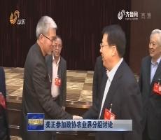 龔正參加政協農業界分組討論