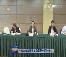 付志方參加政協工商聯界小組討論
