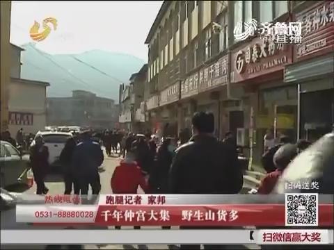 济南:千年仲宫大集 野生山货多