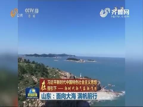 【在习近平新时代中国特色社会主义思想指引下——新时代新气象新作为】山东:面向大海 满帆前行