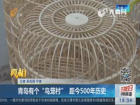 """【真相】青岛有个""""鸟笼村""""距今500年历史"""