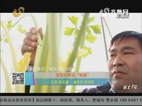 """【新春走基层·新农人年货店】老陈的种菜""""秘籍"""""""